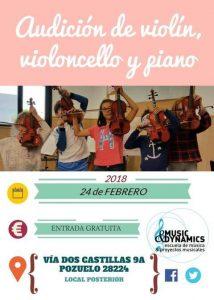 Conciertos de violín Escuela Music&Dynamics
