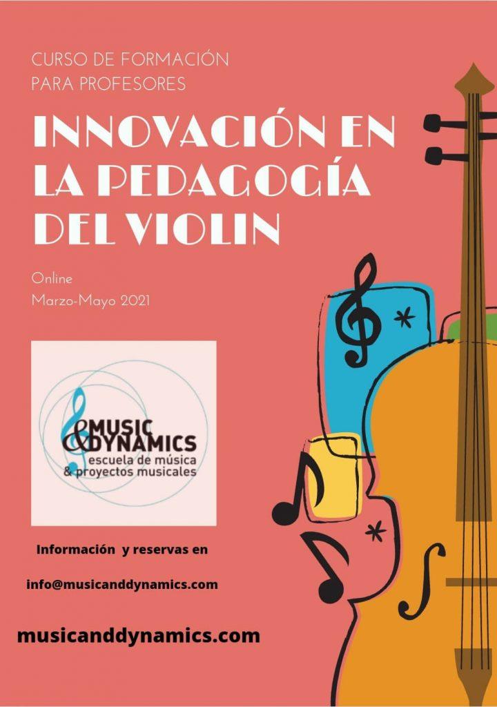 Curso formación profesores música Escuela Music&Dynamics