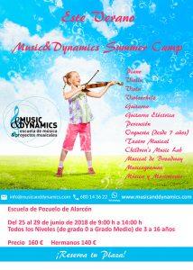Campamentos verano Escuela Music&Dynamics