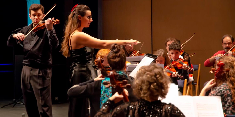 Orquesta escuela de música