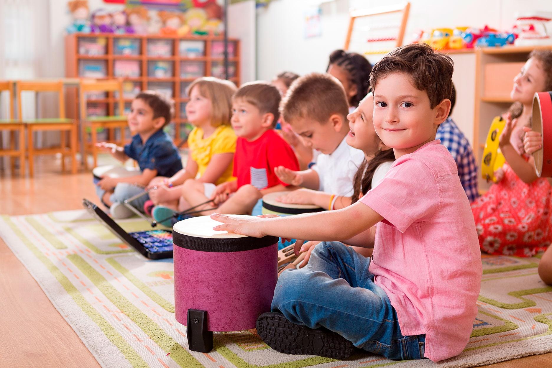 Iniciación musical niños